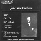 Brahms - Cello Sonatas