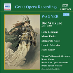 Wagner, R.: Walkure (Die), Acts I and Ii (Ring Cycle 2) (Bruno Walter) (1938)