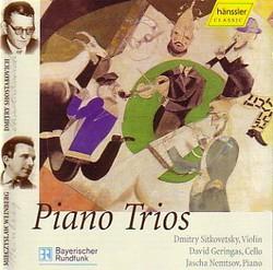 Piano Trios - Dmitri Schostakovich, Alexander Weprik, Mieczyslaw Weinberg