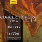 Georg Friedrich Händel - Concerti Grossi op. 6 Nos. 1-4