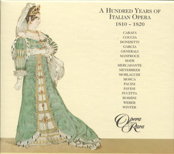 Hundred Years Of Italian Opera (A) (1810-1820)