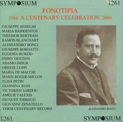 Fonotipia: A Centenary Celebration (1904-1913)