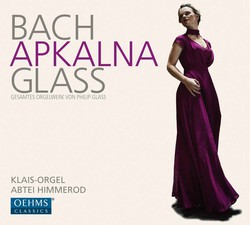 Bach & Glass: Works for Organ