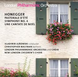 Honegger: Pastorale d´ete - Symphony No. 4 - Une cantate de Noël