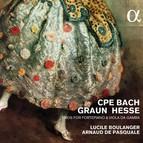 C.P.E. Bach, Graun & Hesse: Trios for Fortepiano & Viola da gamba