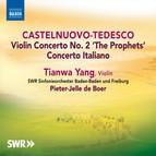 Castelnuovo-Tedesco: Violin Concertos