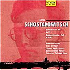 Dmitri Shostakovich - Piano Concerto No.1 op. 35 & Chamber Symphony in C minor op. 110a