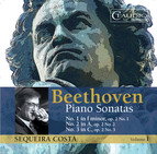 Beethoven: Piano Sonatas, Vol 1 - Nos. 1, 2 and 3