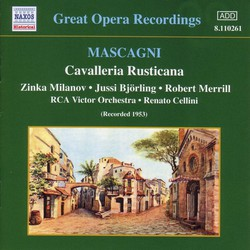 Mascagni: Cavalleria Rusticana (Milanov, Bjorling) (1953)