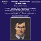 Glazunov: Orchestral Works, Vol.  1