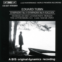 Tubin - Symphony No.4 and No.9