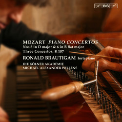 Mozart – Piano Concertos Nos 5 & 6 etc