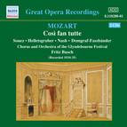 Mozart: Cosi Fan Tutte (Glyndebourne) (1935)