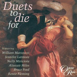 Opera Duets - Donizetti, G. / Mayr, J.S. / Lavigna, V. / Rossini, G. / Carafa, M. / Meyerbeer, G. / Coccia, C. / Pacini, G. / Mercadante, S.