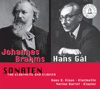 Brahms & Gal: Sonatas for Clarinet and Piano