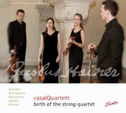 Birth of the String Quartet, Vol. 1