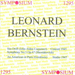 Leonard Bernstein (1945-1947)