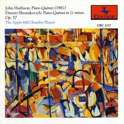Harbison: Piano Quintet - Shostakovich: Piano Quintet