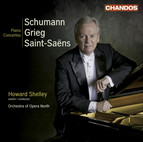 Schumann, R.: Piano Concerto, Op. 54 / Grieg, E.: Piano Concerto, Op. 16 / Saint-Saens, C.: Piano Concerto No. 2