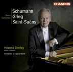 Schumann, R.: Piano Concerto, Op. 54 / Grieg, E.: Piano Concerto, Op. 16 / Saint-Saens, C.: Piano Concerto No. 2