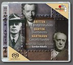 Britten: Variations On A Theme of Frank Bridge / Hartmann: Concerto Funebre / Bartok: Divertimento