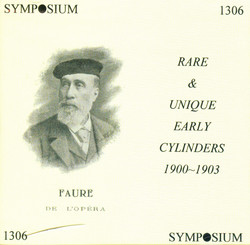 Rare and Unique Early Cylinders, 1900-1903