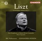 Liszt, F: Symphonic Poems, Vol.  5  - Dante Symphony / 2 Legends