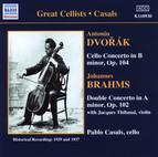Dvorak: Cello Concerto - Brahms: Double Concerto
