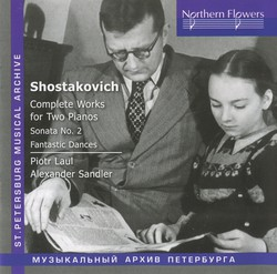 Shostakovich: Complete Works for 2 Pianos