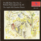Dvorak, A.: Piano Trio No. 1 / Brahms, J.: Piano Quartet No. 3