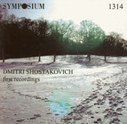 Shostakovich: First Recordings