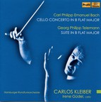 C.P.E. Bach: Cello Concerto in B-Flat Major - Telemann: Suite in B-Flat Major
