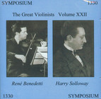 The Great Violinists, Vol. XXII
