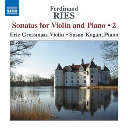 Ries: Sonatas for Violin & Piano, Vol. 2