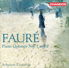Faur, G.: Quintets for Piano and Strings