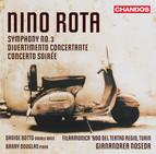 Rota: Symphony No. 3 - Divertimento concertante - Concerto soirée