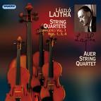 Lajtha, L.: String Quartets (Complete), Vol. 1 - Nos. 1, 3, 4
