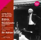 Brahms: Symphony No. 4 - Mendelssohn: Symphony No. 4,