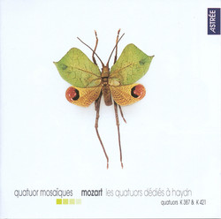 Mozart, W.A.: String Quartets Nos. 14 and 15