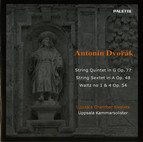 Dvorak: String Quintet in G major, Op. 77 / String Sextet in A major, Op. 48 / 2 Waltzes, Op. 54