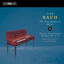 C.P.E. Bach: Solo Keyboard Music, Vol.28