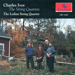 Ives, C.: String Quartets Nos. 1 and 2 / Hallowe'En / Hymn (The String Quartets)