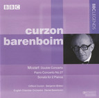 Curzon & Barenboim - Mozart: Double Concerto - Piano Concerto No. 27 - Sonata for 2 Pianos