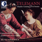 Telemann, G.P.: Chamber Cantatas / Trio Sonatas