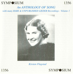 An Anthology of Song, Vol. 1 (1904-1946)