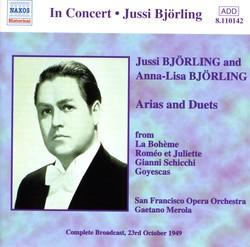 Björling, Jussi / Björling, Anna-Lisa: Arias and Duets (1949)