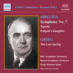 Sibelius: Symphony No. 7 / Tapiola (Koussevitzky) (1933-1940)