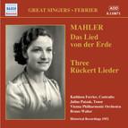 Mahler: Rückert-Lieder & Das Lied von der Erde (Recorded 1952)