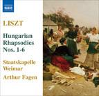 Liszt: 6 Hungarian Rhapsodies, S359/R441