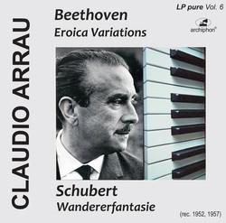 Arrau plays Beethoven and Schubert (LP-Pure Vol. 6)